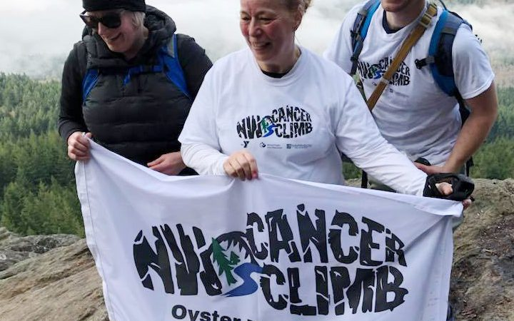 Northwest Cancer Climb, Oyster Dome